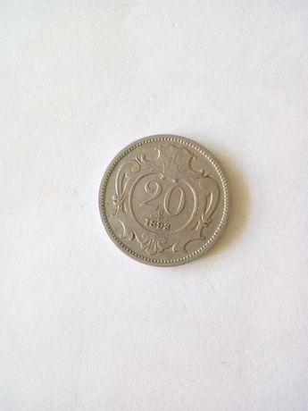 Moneta z 1893r