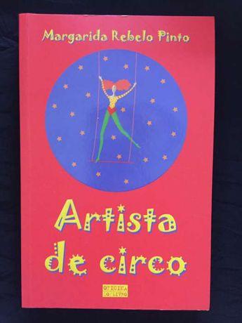 Artista de circo Margarida Rebelo Pinto