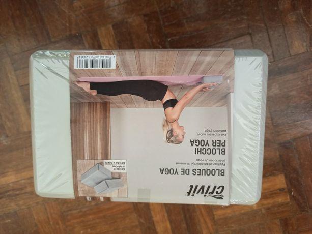 Blocos para yoga