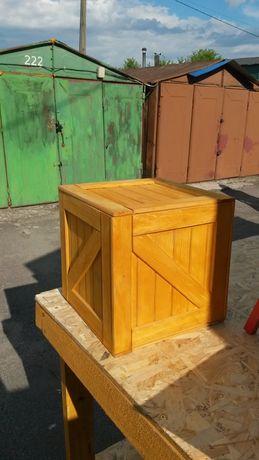 Деревянный ящик 35х35