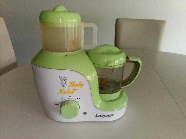 Robot baby - cozinha a vapor e tritura