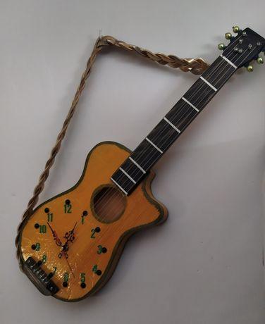 Zegar gitara rękodzieło