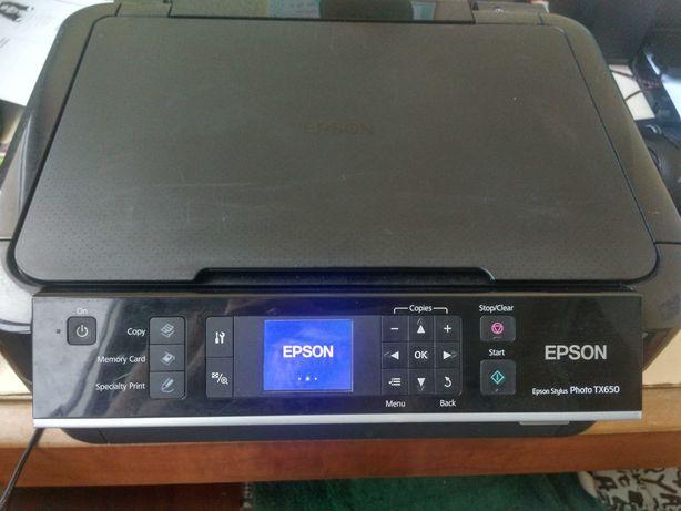 МФУ Epson tx 650 (принтер для фотографий)