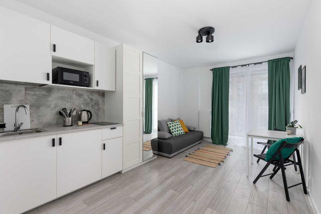 Mieszkanie 1-pokojowe z balkonem w Centrum - Tramwajowa 17B