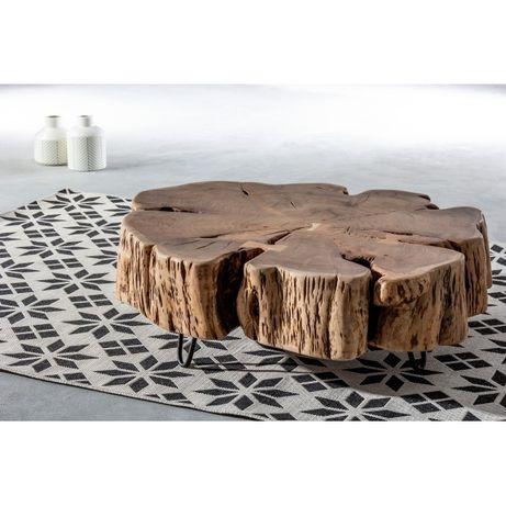 Mesa apoio tronco Acácia Coffee Table Solid Wood-by OVO Home Design
