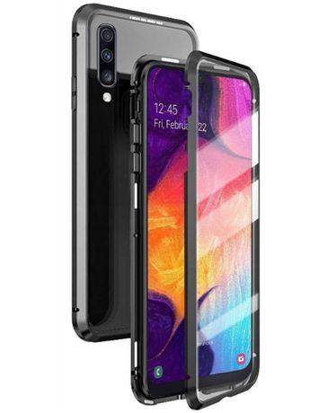 Samsung Galaxy A70 Etui i szkło magnetyczne 360