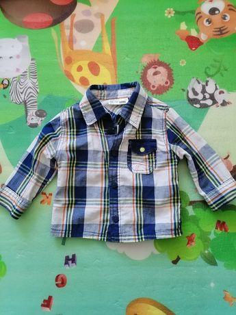 Koszula chłopięca r. 74