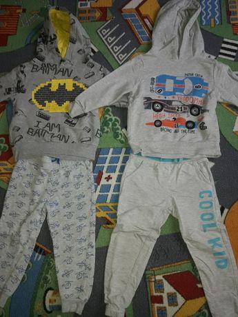 Spodnie,bluzy roz 98
