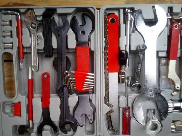 Wielofunkcyjny zestaw narzędzi do rowerów 44-elementowy zestaw do napr