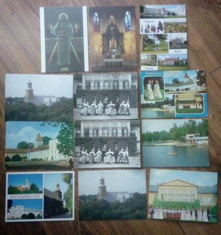 Koszęcin pocztówki - 12 szt