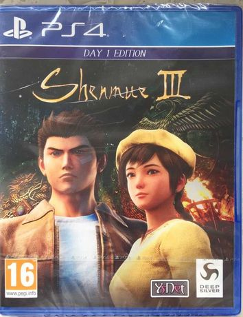 Shenmue 3 NEW! PS4