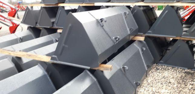 Uniwersalna łyżka łycha Metal Technik 1.8m 2m 2.2m do tura euro ramka