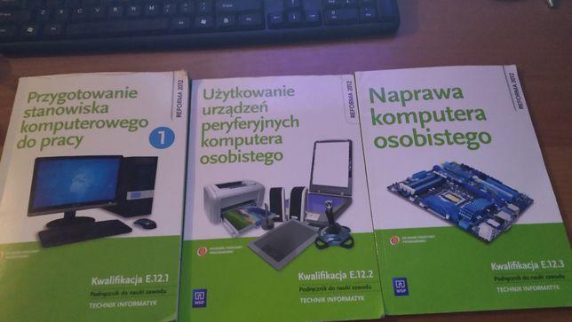 Książki E12 informatyka