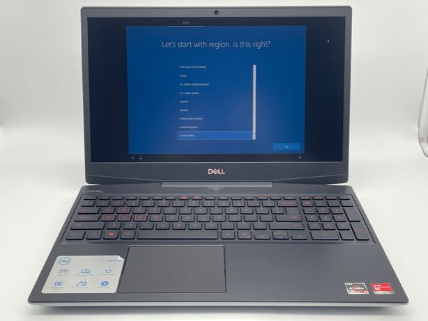 "Dell G5 15"" SE Gaming i5505 AMD Ryzen 5 4600H 3.0GHz 8Gb 256Gb New 20"