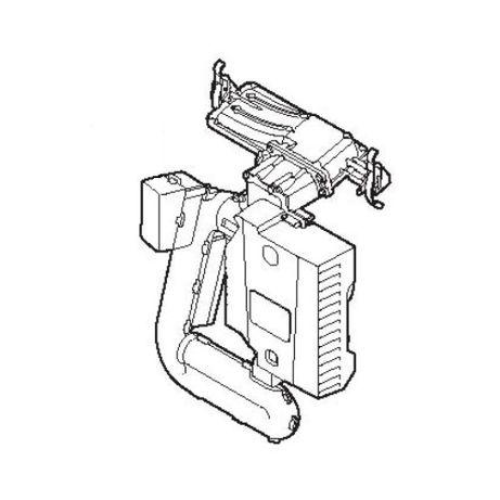 De Dietrich MCR3 24 S101732 Zespół gazowo-powietrzny, płyta główna