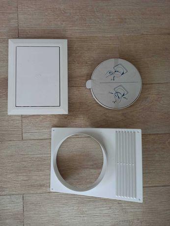 Вентиляционная решетка  для вытяжки ревизионный люк обратный клапан