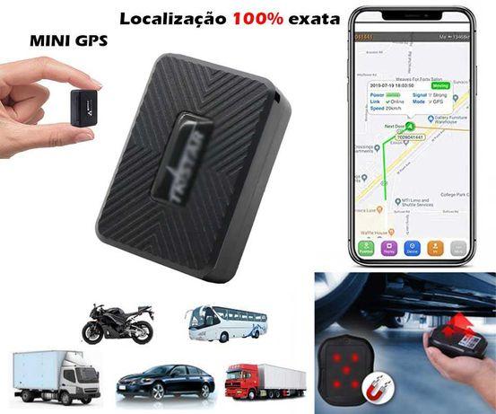 Localizador GPS IMAN (Bateria 25 Dias/100% Exato/APP) Carros Etc (NOVO