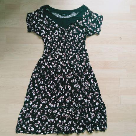 Sukienka maxi Reserved XS/S wzory lato