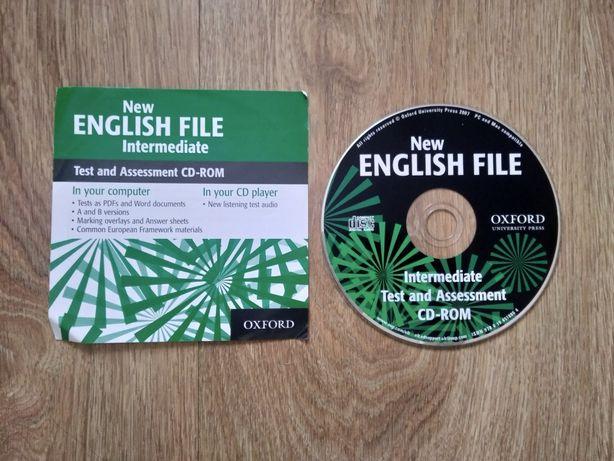 New English File Intermediate płyta z testami tests i klucz odpowiedzi