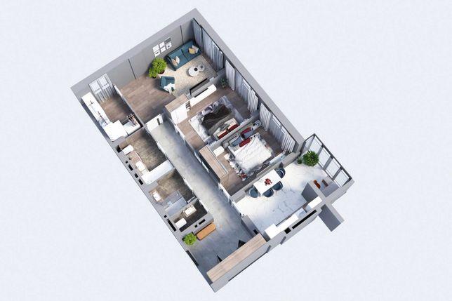 Продам 3 кім. квартиру 98 м.кв. R2 Residence