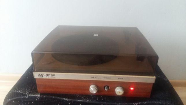Gramofon ze wzmacniaczem lampowym Unitra Fonica WG - 460