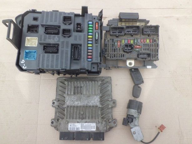 Комплект ЄБУ Блок управления 2.0 1.6 Фіат Скудо Fiat Scudo Пежо Сітрое