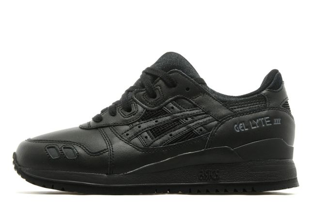 Limited! Buty Japan Asics Gel Lyte III Triple Black adidas nike reebok