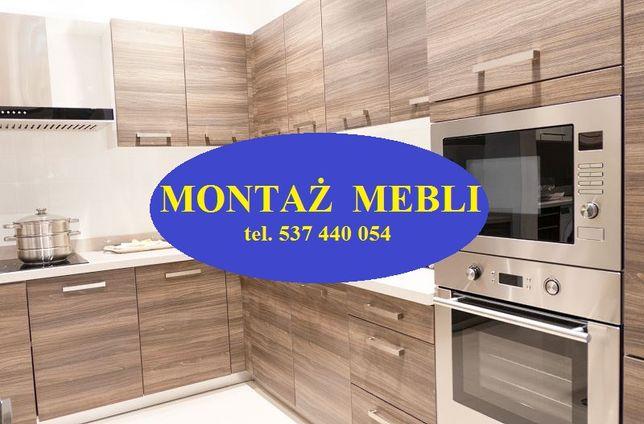 Składanie mebli - montaż mebli - montaż kuchni IKEA AGATA .. - blaty