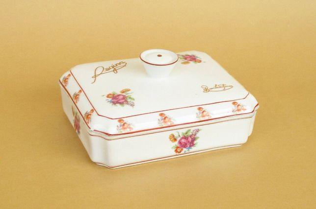 Antiga caixa em porcelana Vista Alegre publicitária Regina Chocolates