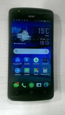 Уникальный качественный смартфон Acer на 3 sim карты. dts studio sound