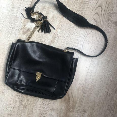 Черная сумка кожа, идеальное состояние и качество other stories