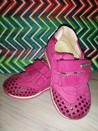Кроссовки кожаные, 21 размер