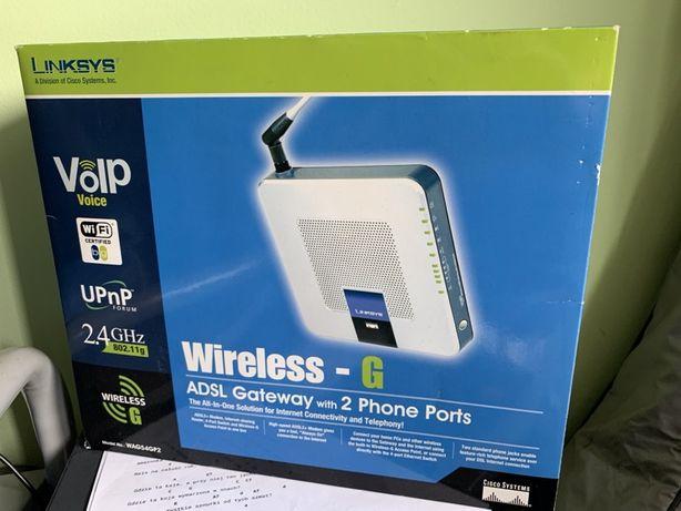 OKAZJA! CISCO Router Linksys WAG54GP2-E2