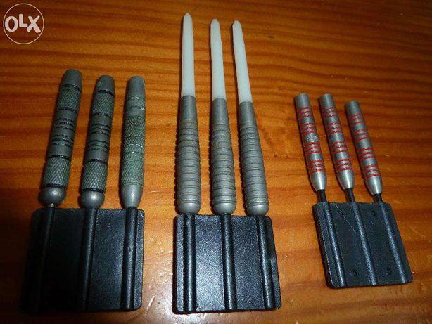 Setas / Dardos com ponta em metal