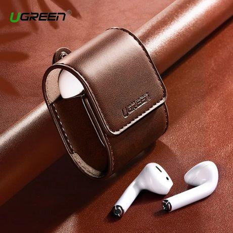 Кожаный кейс-чехол для наушников AirPods (AirPods 2) Ugreen