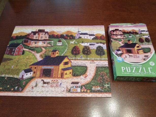 Puzzle 500 mini Miasteczko