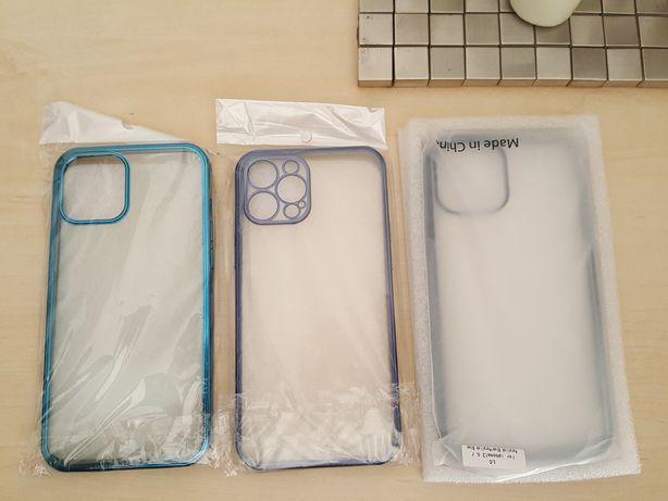 Capa IPHONE 12 Pro Max Azul/Transparente