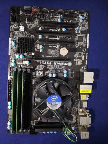 Zestaw: I5-3470, ASRock B75 Pro3, 12GB ramu
