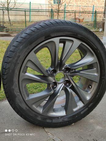 Літні Колеса Диски з резиною r17 215/50 goodyear.  Peugeot citroen