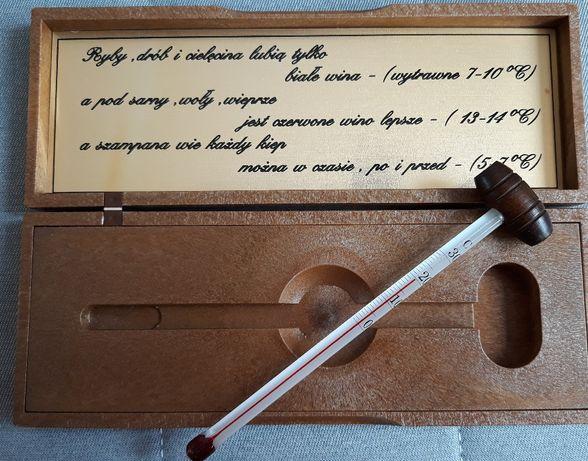Termometr do Wina w Eleganckiej Kasetce