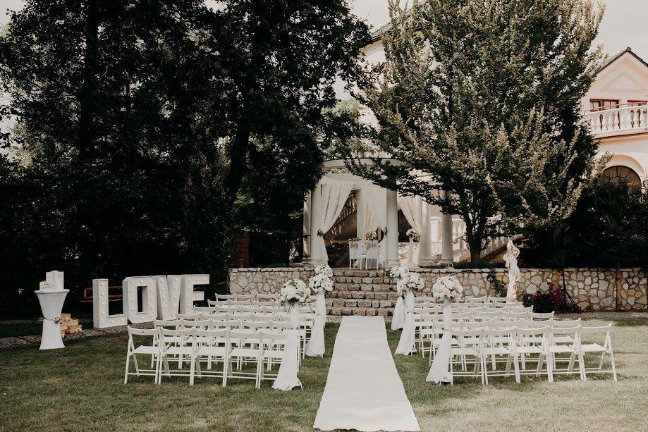 Ślub w plenerze, komunia w ogrodzie. Namioty, krzesła, stoły. Wynajem Rybnik - image 1
