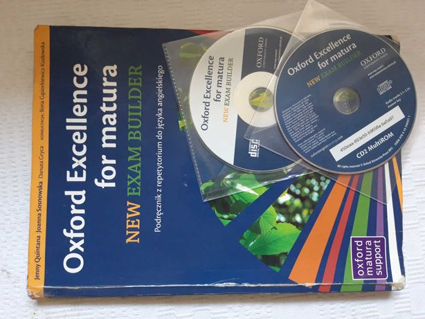 Oxford Excellence for matura podręcznik z repetytorium do języka ang