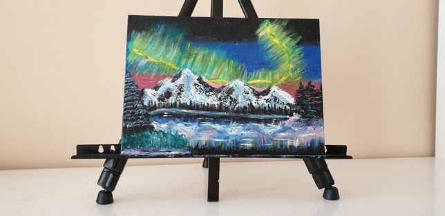 """Картина """"Казковий захід в горах"""""""