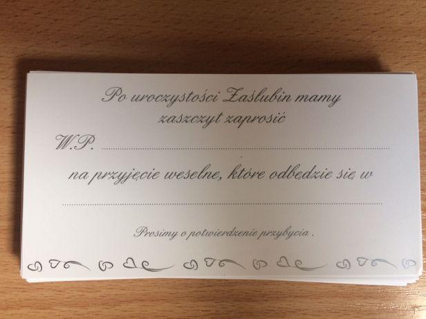 Formatki do zaproszeń ślubnych/ dodatki/ wesele