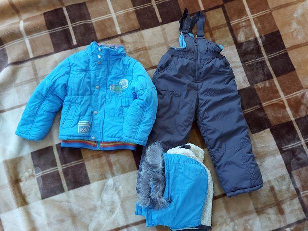 Продам зимний, тёплый комбинезон, куртка и штаны на подтяжках