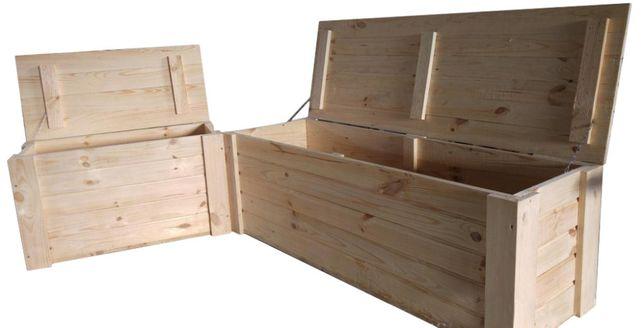 Kufer Drewniany Kuferek Skrzynia XXL 150x50x50 cała Polska