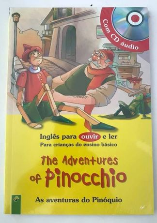 The Adventures of Pinocchio com CD Novo Portes Grátis