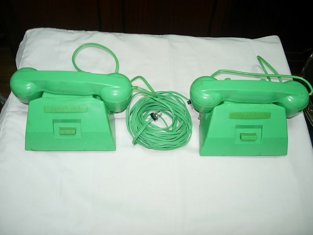 Vintage Modern Toys Japão Bateria Childrens telefone Junior