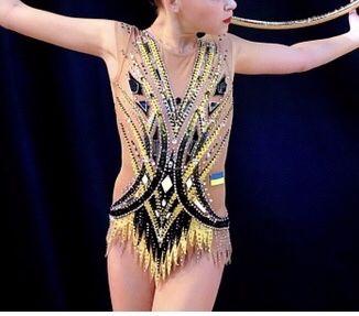 Купальник 140-150 для художественной гимнастики