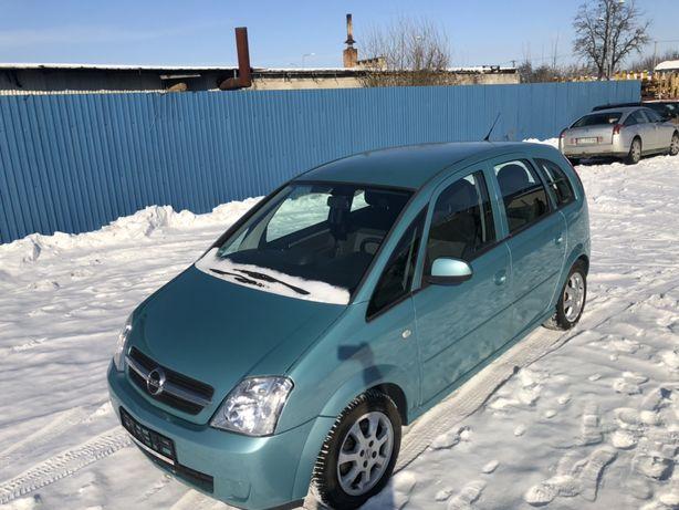 Opel Meriva 1.6 b. Opłacona